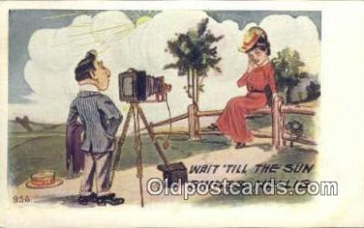 cam100046 - Camera Postcard Post Card Old Vintage Antique