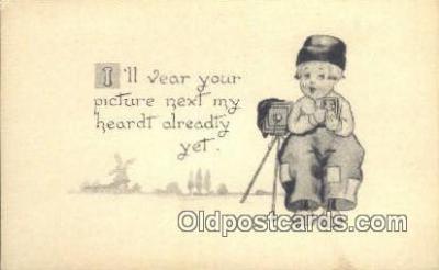 cam100071 - Camera Postcard Post Card Old Vintage Antique