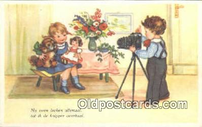 cam100079 - Camera Postcard Post Card Old Vintage Antique