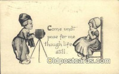 cam100084 - Camera Postcard Post Card Old Vintage Antique