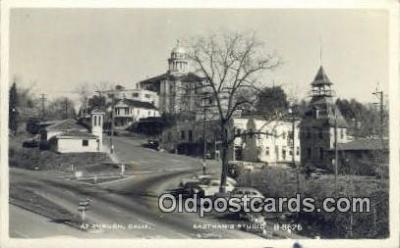 cam100087 - Auburn California, Eastman Studio Camera Postcard Post Card Old Vintage Antique