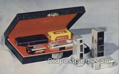 cam100089 - Minolta Miniature Cameras Camera Postcard Post Card Old Vintage Antique