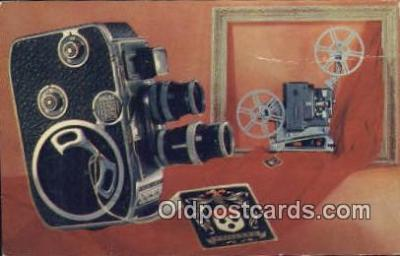 cam100093 - Camera Postcard Post Card Old Vintage Antique