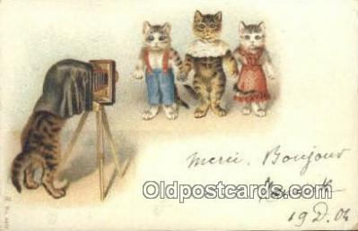 cam100102 - Camera Postcard Post Card Old Vintage Antique
