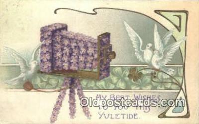 cam100123 - Camera Postcard Post Card Old Vintage Antique