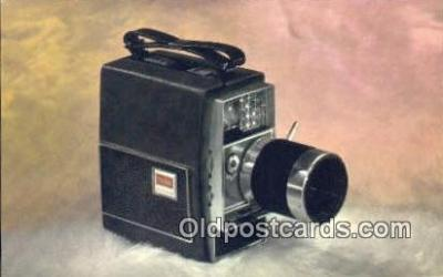 cam100131 - Kodak Electric 8 Zoom Camera Postcard Post Card Old Vintage Antique