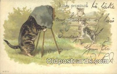 cam100154 - Camera Postcard Post Card Old Vintage Antique