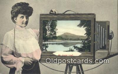cam100190 - Camera Postcard Post Card Old Vintage Antique