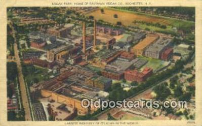 cam100248 - Kodak Park, Rochester, NY USA Camera Post Card Postcard Old Vintage Antique