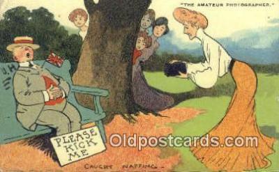 cam100284 - Artist Tom Browne Camera Post Card Postcard Old Vintage Antique
