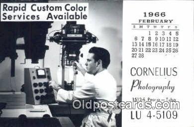 cam100293 - Cornelius Photography Inc. Tulsa Oklahoma, USA Camera Post Card Postcard Old Vintage Antique