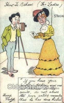 cam100304 - Camera Post Card Postcard Old Vintage Antique