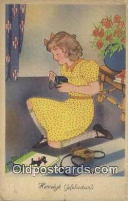 cam100331 - Camera Post Card Postcard Old Vintage Antique
