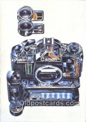 cam100442 - Canon Camera Postcard Post Card Old Vintage Antique