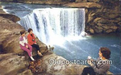 cam100452 - Cumberland Falls, Corbin Kentucky, USA Camera Postcard Post Card Old Vintage Antique