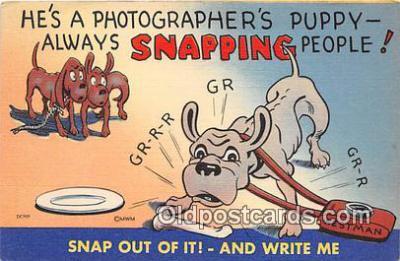 cam100514 - Camera Vintage Postcard