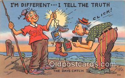 cam100517 - Camera Vintage Postcard