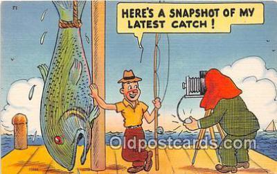 cam100520 - Camera Vintage Postcard