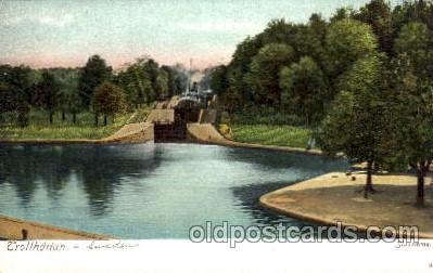 can100006 - Trollhattan, Slussarne, Sweden Canal, Canals, Postcard Post Card