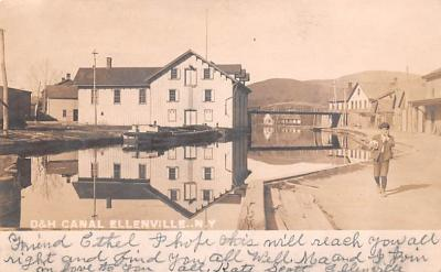 can200003 - Delaware and Hudson Canal Postcard Old Vintage Antique