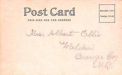 can200003 - Delaware and Hudson Canal Postcard Old Vintage Antique  back