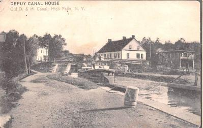 can200019 - Delaware and Hudson Canal Postcard Old Vintage Antique