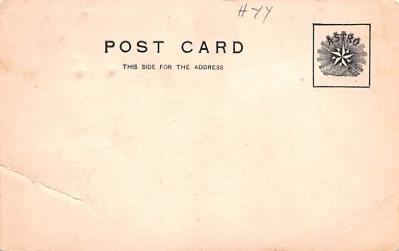 can200027 - Delaware and Hudson Canal Postcard Old Vintage Antique  back