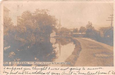 can200031 - Delaware and Hudson Canal Postcard Old Vintage Antique