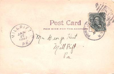 can200031 - Delaware and Hudson Canal Postcard Old Vintage Antique  back