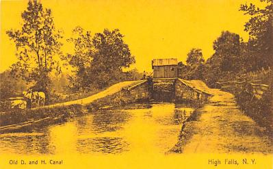 can200033 - Delaware and Hudson Canal Postcard Old Vintage Antique