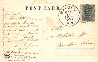 can200041 - Delaware and Hudson Canal Postcard Old Vintage Antique  back