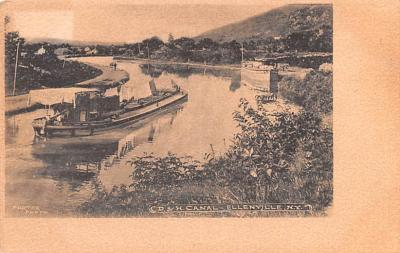 can200045 - Delaware and Hudson Canal Postcard Old Vintage Antique