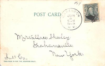 can200053 - Delaware and Hudson Canal Postcard Old Vintage Antique  back