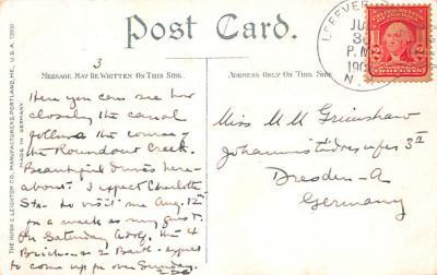 can200059 - Delaware and Hudson Canal Postcard Old Vintage Antique  back