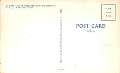 can200097 - Delaware and Hudson Canal Post Card Old Vintage Antique  back