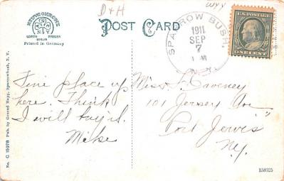 can200105 - Delaware and Hudson Canal Post Card Old Vintage Antique  back