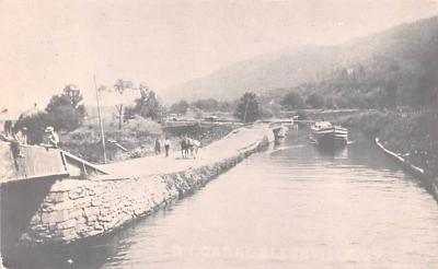can200123 - Delaware and Hudson Canal Post Card Old Vintage Antique