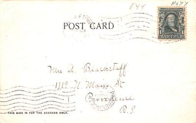 can200141 - Delaware and Hudson Canal Post Card Old Vintage Antique  back