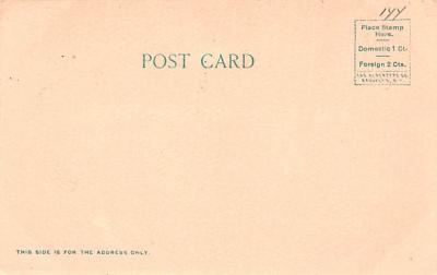 can200147 - Delaware and Hudson Canal Post Card Old Vintage Antique  back