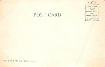 can200149 - Delaware and Hudson Canal Post Card Old Vintage Antique  back
