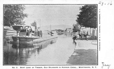 can200169 - Delaware and Hudson Canal Post Card Old Vintage Antique
