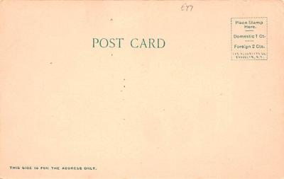 can200213 - Delaware and Hudson Canal Post Card Old Vintage Antique  back
