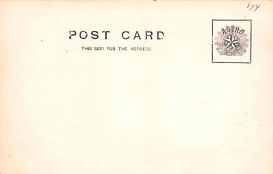 can200217 - Real Photo Delaware and Hudson Canal Post Card Old Vintage Antique  back