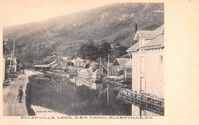 can200219 - Delaware and Hudson Canal Post Card Old Vintage Antique