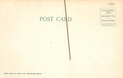 can200219 - Delaware and Hudson Canal Post Card Old Vintage Antique  back