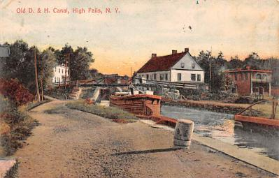 can200229 - Delaware and Hudson Canal Post Card Old Vintage Antique