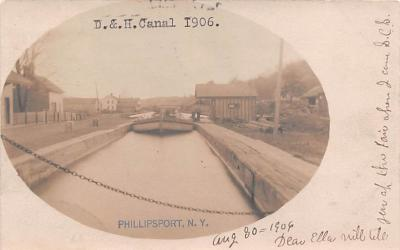 can200241 - Delaware and Hudson Canal Post Card Old Vintage Antique
