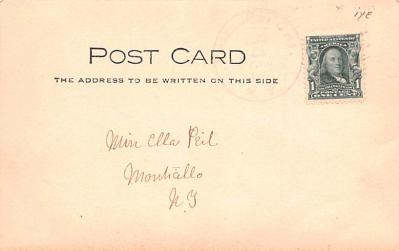 can200241 - Delaware and Hudson Canal Post Card Old Vintage Antique  back
