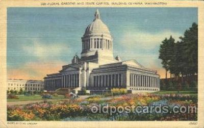 cap001005 - Olympia, Washington, Wa, USA Washington State Capitol, Capitols Postcard Post Card