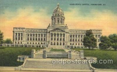cap001036 - Franlfort, Kentucky, Ky, USA State Capitol, Capitols Postcard Post Card